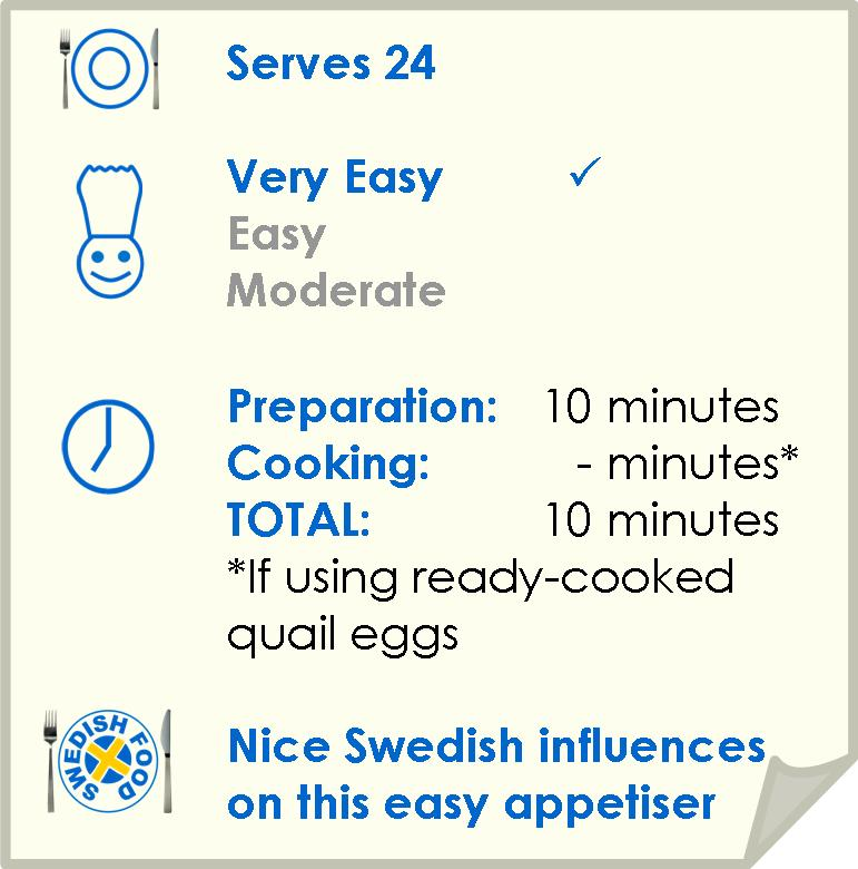 Recipe summary for prawn and egg on rye crispbread