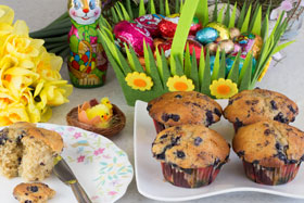 Cardamom muffins at Easter
