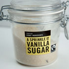 A jar of vanilla sugar