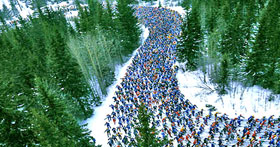 Vasaloppet (The world's longest cross-country ski race)