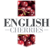 Logo for English cherries