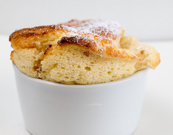 Cloudberry souffle