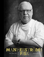 "The cover of ""Mannerströms Fisk"" by Swedish chef Leif Mannerström"