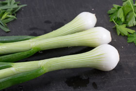 """Continental"" spring onions"