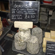 Dorstone goat's cheese from Neal's Yard