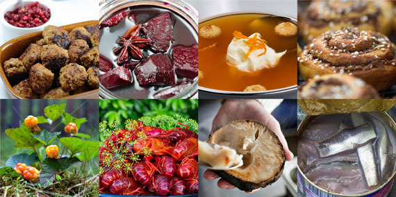 Swedish food has seven key distinctive features