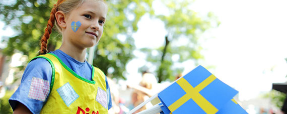National Day being celebrated in Sweden