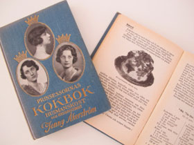 An original version of Prinsessornas Kokbok
