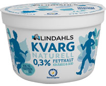 A tub of quark