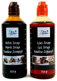 Swedish syrups